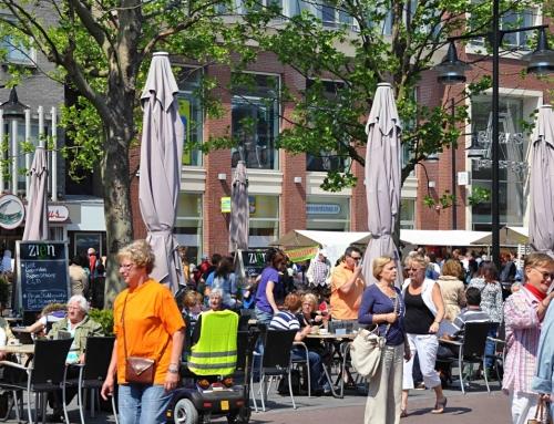 Steeds meer bezoekers naar centrum van Helmond